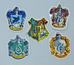 Harry Potter Gryffindor Ravenclaw Vinyl Decal Stickers