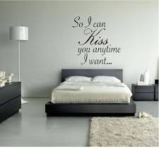 So I Can Kiss You Anytime I Want Quote Wall Decal Home Decor Etsy