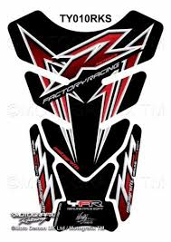 Yamaha Yzf R1 R6 Black Red Motorcycle Tank Pad Motografix 3d Gel Protector Ebay Yamaha Yzf R1 Motorcycle Tank Red Motorcycle