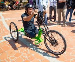 Handbike elettrica progettata con il supporto di Alex Zanardi ...