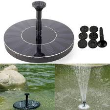 7v solar power floating brushless water