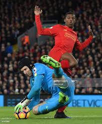 Czech goalkeeper Petr Cech saves ...