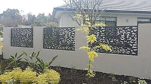 Aluminium Angled Privacy Screens Laser Cut Designs Aluminium Laser Panels And Iron Balustrading In Perth