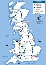 great britain itinerary where to go in