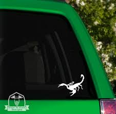 Scorpion Car Window Decal Etsy