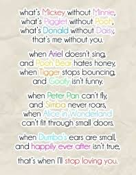 cute disney love quotes sayings sweet disney quotes