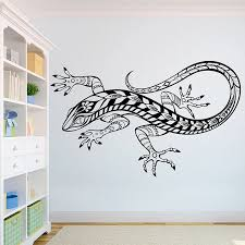 Lizard Beautiful Wolves Wall Decal African Wild Lion Pride Animals Home Interior Design Art Office Murals Home Decoration A3 005 Wall Stickers Aliexpress
