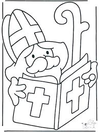 Sint Leest Het Grote Boek Kleurplaten Sint
