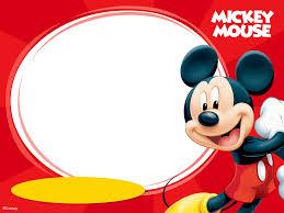Tarjetas De Mickey Mouse Para Imprimir