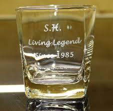 engraved whiskey glasses personalised