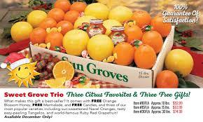 sun groves orange gift fruits florida