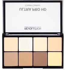 hd pro ultra cream contour palette