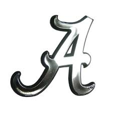 Alabama Crimson Tide Ncaa Chrome 3d For Auto Car Truck Emblem Decal Sticker College Officially Licensed Team Logo Evelyn W Gibsoner