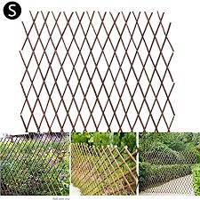 Amazon Com N Z Wooden Fence Expanding Bamboo Trellis For Vining Plants Expandable Freestanding Wood Garden Trellis Fence Plant Screen Garden Plant Climbing Frame Trellis Flower Decoration Stand Garden Outdoor