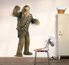 Amazon Com Chewbacca Full Color Decal Chewbacca Color Sticker Chewbacca Color Decal Star Wars Decor Color Sticker Star Wars Color Wall Art Vmc 020 10x30 Baby