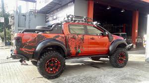 Luxurywrap Custom Decal For This Ford Ranger T6 By Facebook