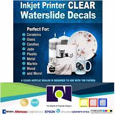 Inkjet Ultra Cling Removable Decal Paper 5 Clear For Sale Online Ebay