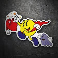 Pac Man Stickers Muraldecal