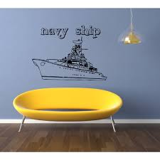 Shop Ship Caption Wall Art Sticker Decal Free Shipping On Orders Over 45 Overstock 11433154