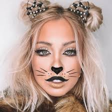 lovely cat makeup for cute s