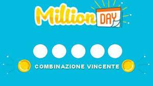 Million Day estrazione 12 maggio 2020: i numeri vincenti di stasera