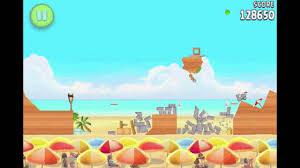 Angry Birds Rio All 15 Hidden Golden Watermelons - YouTube