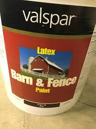5 Gal Valspar Barn And Fence Paint It S A Paint And Stain Palooza K Bid