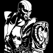 God Of War Kratos Game Character Car Vinyl Decal Sticker White Ebay