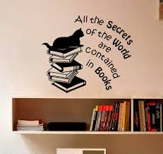Book Quotes Art Wall Decal Vinyl Sticker For Kids Room Reading Store Library Mural Bedroom Livingroom Home Decor Poster W212 Buy At The Price Of 7 60 In Aliexpress Com Imall Com