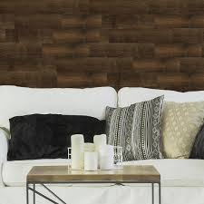 Ejoy Brown 36 In X 6 In Luxury Wood Grain Pattern Vinyl Peel And Stick Wall Sticker For Wall Decal 36 Piece Vinylwoodsticker 1011 1box The Home Depot