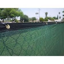 Aleko Privacy Mesh Fabric Screen Fence With Grommets 6 X 150 Feet Dark Green Walmart Com Privacy Fence Screen Fence Screening Fence Windscreen