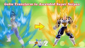 Goku Transformable to Ascended Super Saiyan - Dragon Ball ...
