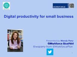 Cosboa digital productivity presentation v0.1 wendy perry