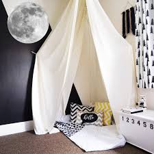 Full Moon Wall Decal Space Wall Decal Sticker For Kids Room Wall Decor Deaclideas Wall Decals