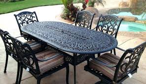 outdoor table set wood top and chairs