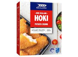 Potato Crumb Hoki Fillets