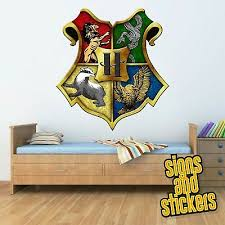 Hogwarts Crest Logo Harry Potter Vinyl Sticker Car Decal U K Post Only Vehicle Parts Accessories Tamil Ehowremedies Com