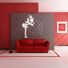 mirror wall sticker living room bedroom