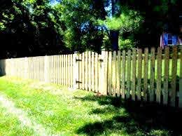 Dog Ear Picket Fence Picket Fence Design Ideas Low Level Fence Limited Privacy Fence Family Fence Fences For Children P Fence Design Picket Fence Fence Pickets