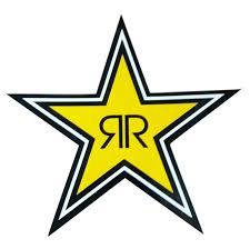 Rockstar Energy Drink Sticker Star Logo Vinyl Decal 7 Large Winter Warehouse