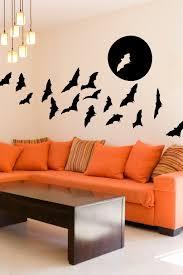 Full Moon Bats Wall Decals Halloween Wall Decals