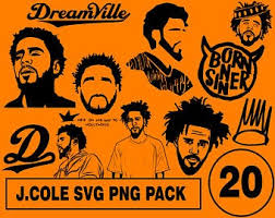 J Cole Decal Etsy