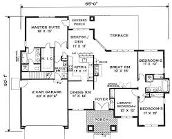 simple one story house plans y