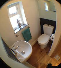 minimum size for a downstairs toilet