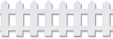 Amazon Com Pacon Bordette Picket Fence White 6 X 16 1 Roll Office Products