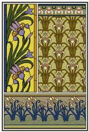 iris cross stitch pattern pdf fl