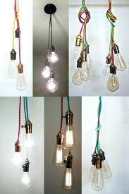 hanging pendant light kit new york