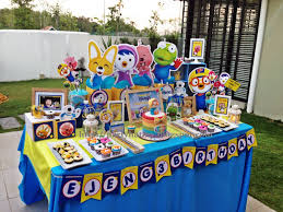 Pororo And Friends Birthday Party For Ejeng Pororo Cumpleanos