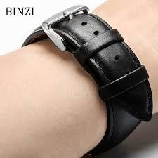 men women watchband leather watch band