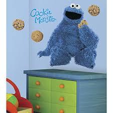 Roommates Rmk1483gm Sesame Street Cookie Monster Giant Peel Stick Wall Decal Charles B Rushingiot